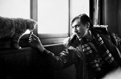 Brian Aris - Brian Ferry II - z/w foto - 38,6 x 26,3 cm