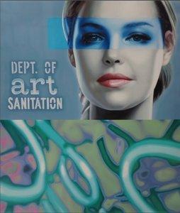 Jan Bollaert - Dept of Art Sanitation - Lambdaprint op papier - 93 x 83 cm - ingelijst