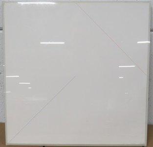 Fons Brasser - Nr. 5.81, 3e versie - 51 x 51 cm - Inkt op papier - in lijst achter plexiglas