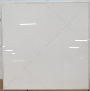 Fons Brasser - Nr. 5.61, 4e versie - 51 x 51 cm - Inkt op papier - in lijst achter plexiglas