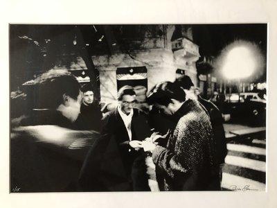 Patricia Steur - Jimmy Vaughn - 78 x 61  cm - zwart wit foto (vintage print) - luxe ingelijst