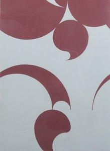 Leo Vroegindewei - zonder titel - 93 x 73 cm - Zeefdruk op papier - in houten lijst